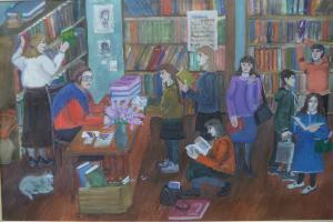 Агиенко Евгения - В детской библиотеке