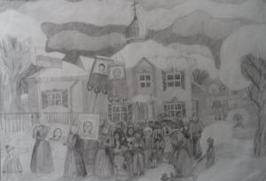 Белова Александра - Святая ночь на небосклон взошла