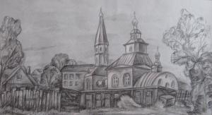 Волкова Дарья - Старый храм