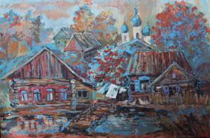 Казанцева Зинаида - За окошком краснеют рябины