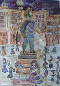 Мальцева Александра - Площадь Пушкина
