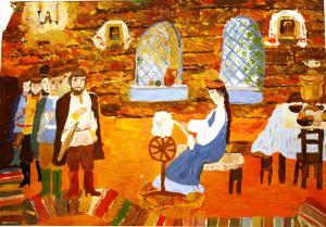Филарчук Наталья - Сказка о спящей царевне и о семи богатырях
