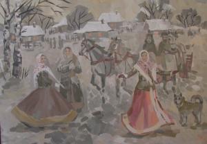 Худюкова Алина - Вечером в деревне