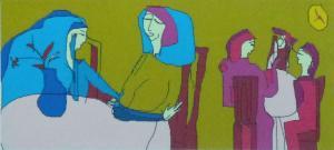 Асанова Маргарита - Серия Диалог -В кафе
