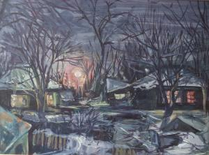 Баранова Ирина - Зимний вечер