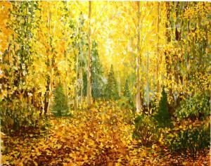 Перевизник Анна - Осенний пейзаж
