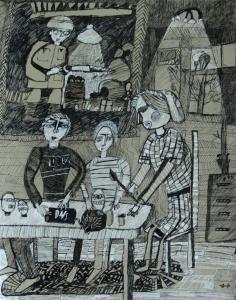 Моховиков Александр. Масленица. Кемерово ЦДШИ