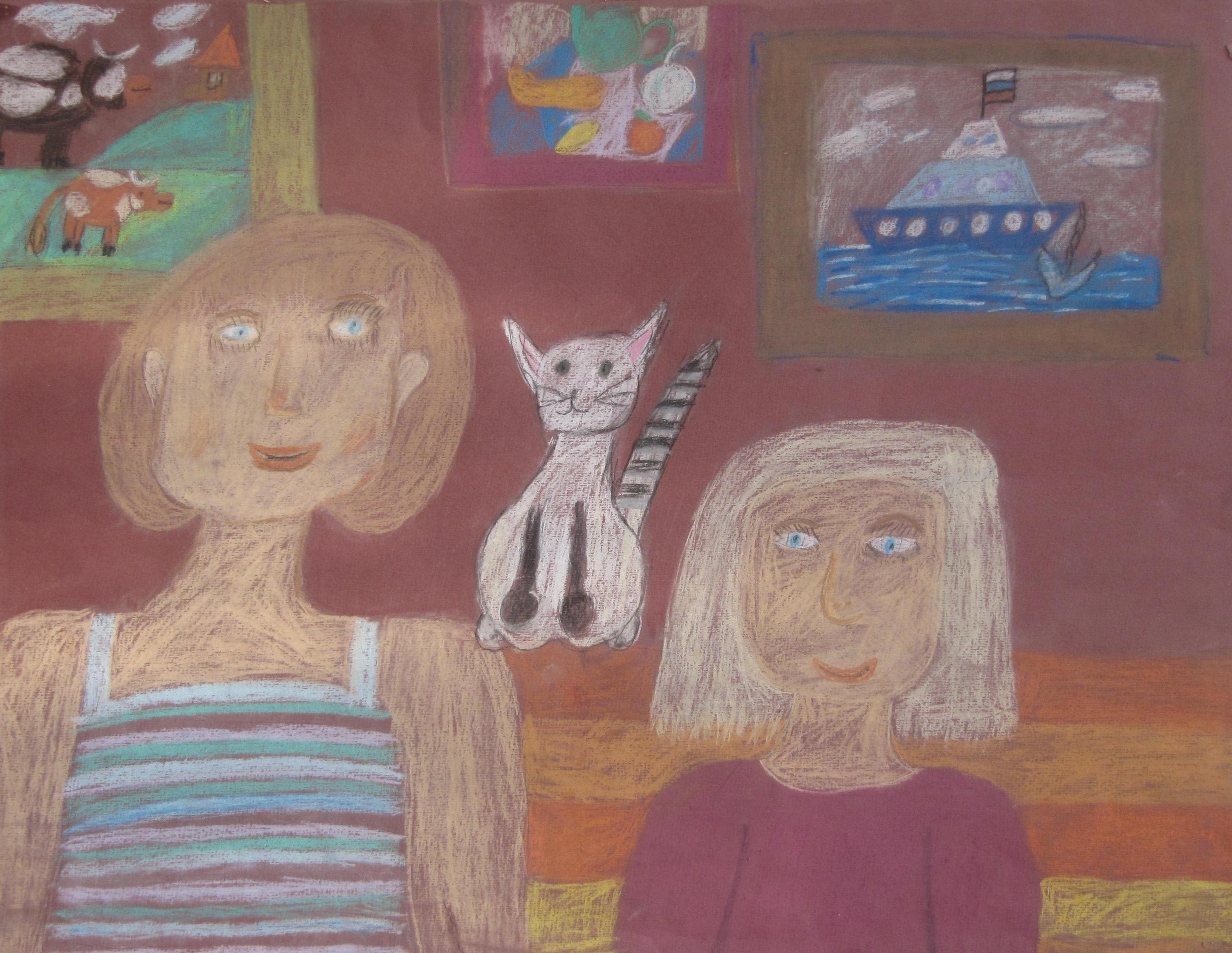 Абрамова Арина - Мама и моя подруга