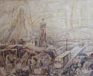 12 Боброва Наталья - Святая Варвара - Покровительница шахтеров