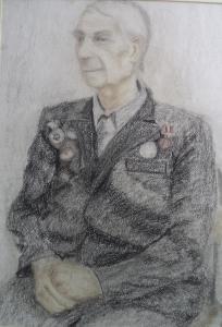 Гаденова Юлия. Портрет ветерана