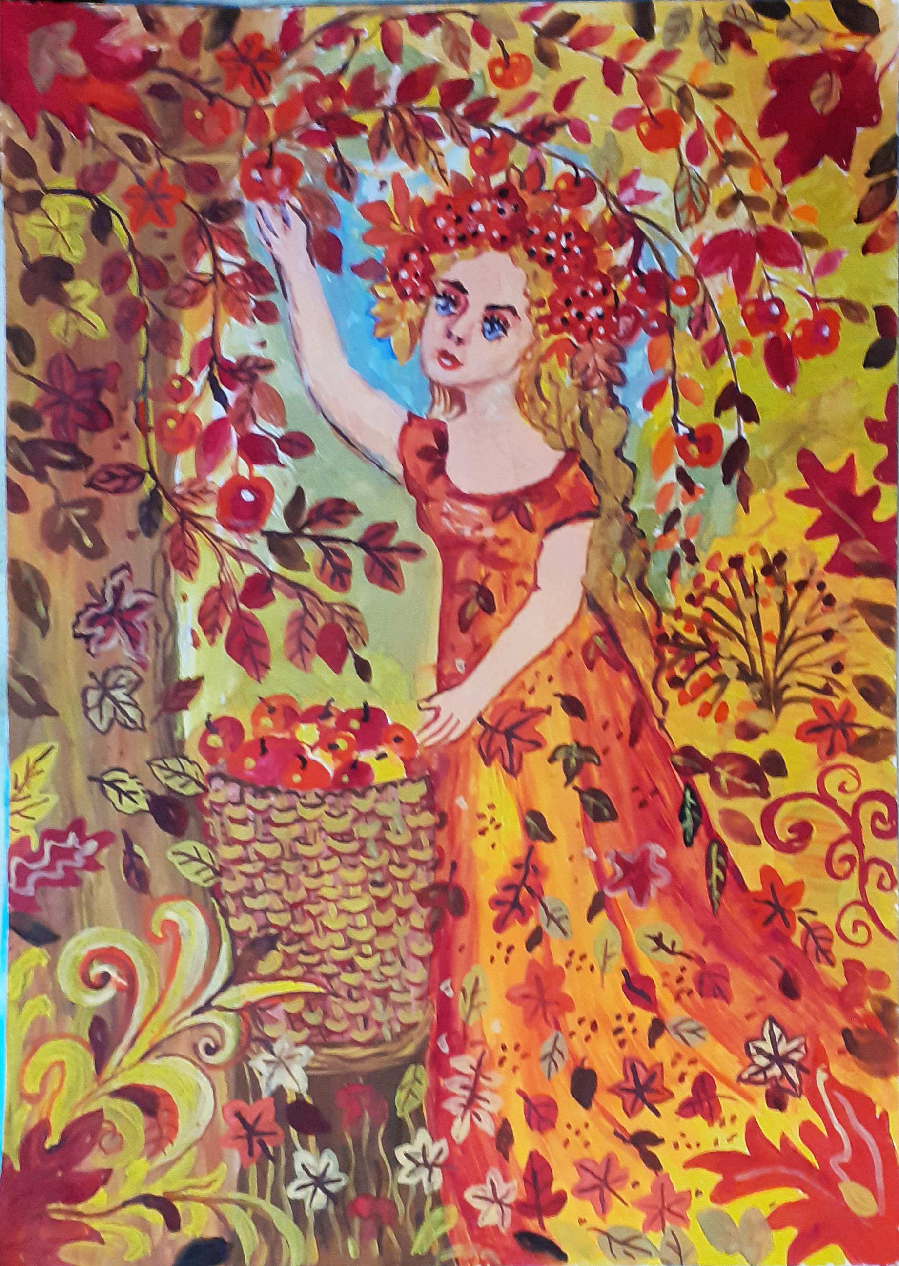 Алехина Наталья. Осень. Времена года