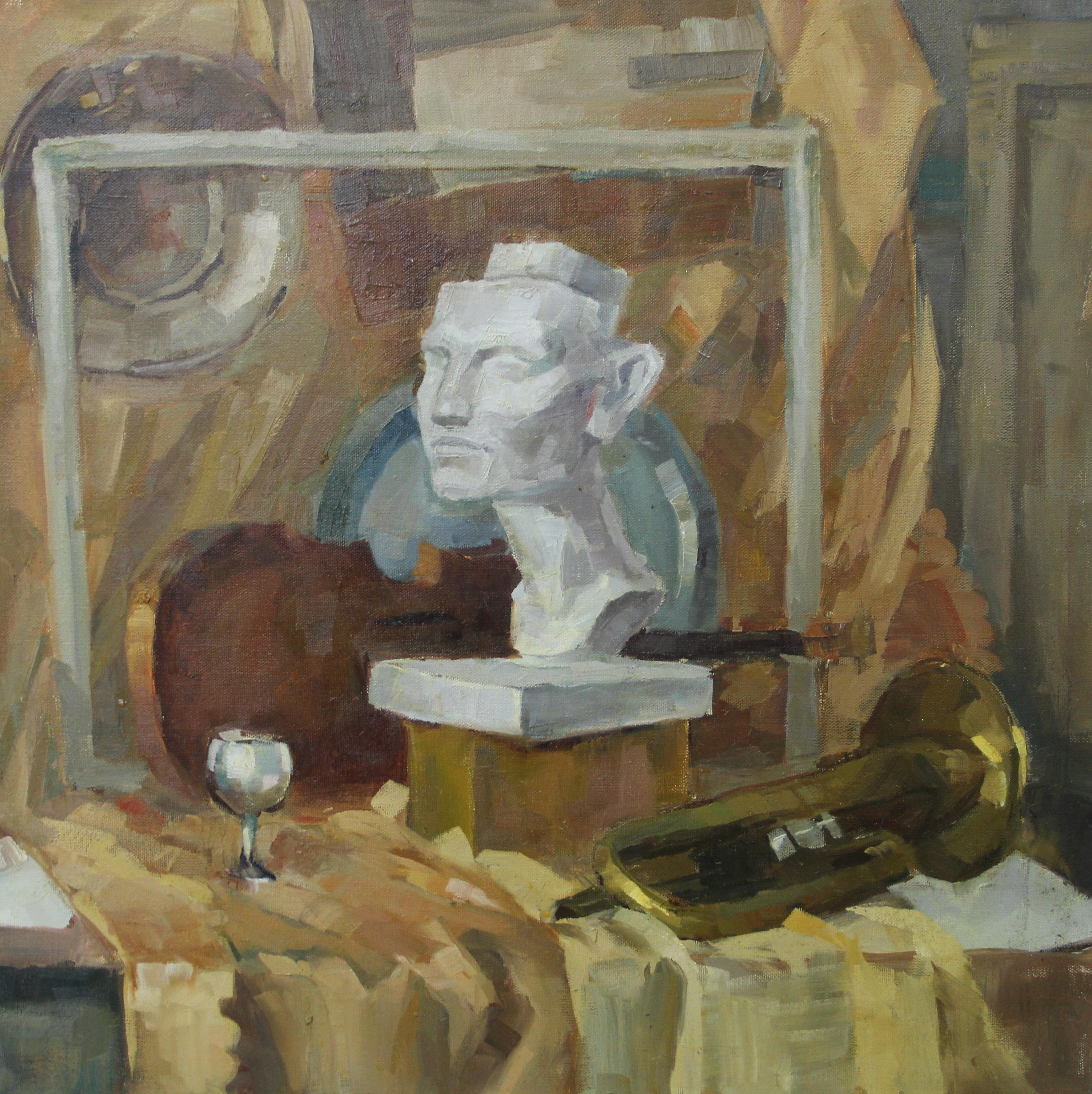 Кулагина Мария. Натюрморт с атрибутами искусств